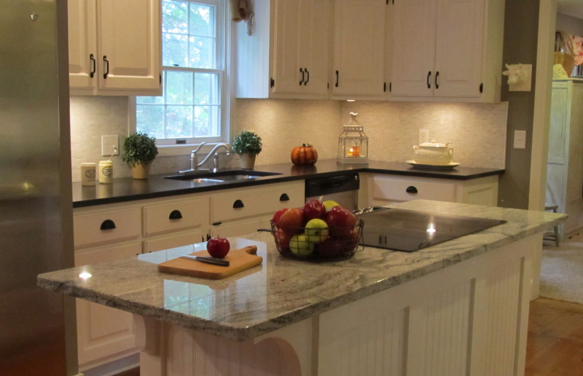 Used Kitchen Cabinets Vt Finished Reno With Chalk Painted Cabinets Kitchen Home