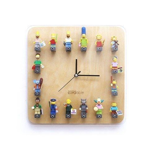 Cordable LEGO Mini Figure DIY Wall Watch Home Decor Large Clock ...