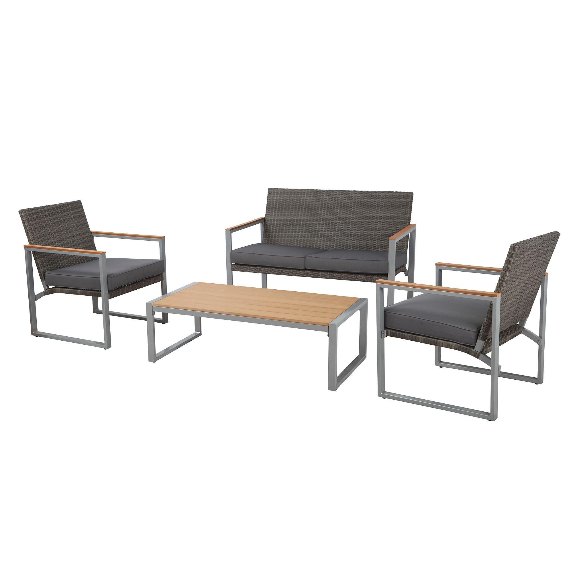 Ensemble De Conversation Capri Groupe Bmr Outdoor Chairs Home Decor Outdoor Furniture Sets