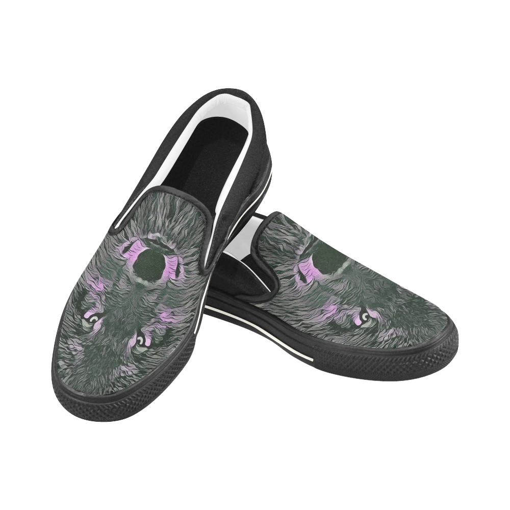 herren halbschuhe lady wolf slip on canvas shoes for kid  model 019  fashion with  lady wolf slip on canvas shoes for kid