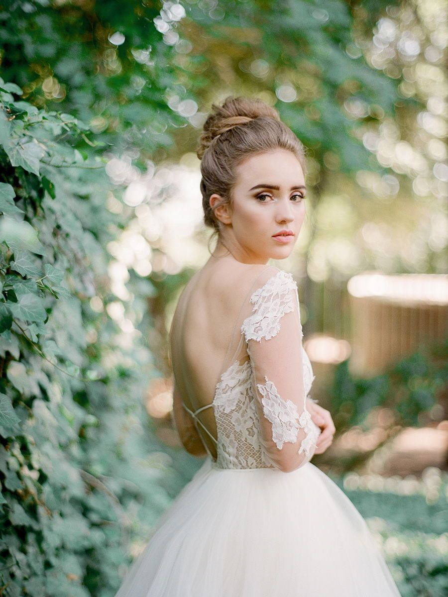 Hayley Paige Ballgown At Bitsy Bridal Photo By Heather Nan