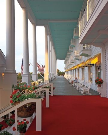 Best Hotels Design And Craftsmanship Grand Hotel Mackinac Island Mackinac Island Michigan Mackinac Island