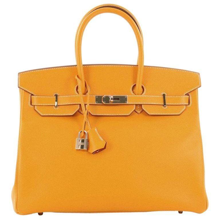 bd24fe95a53a Hermès - Birkin 35cm Candy Epsom Gold Hardware Birkin Bag ( 11