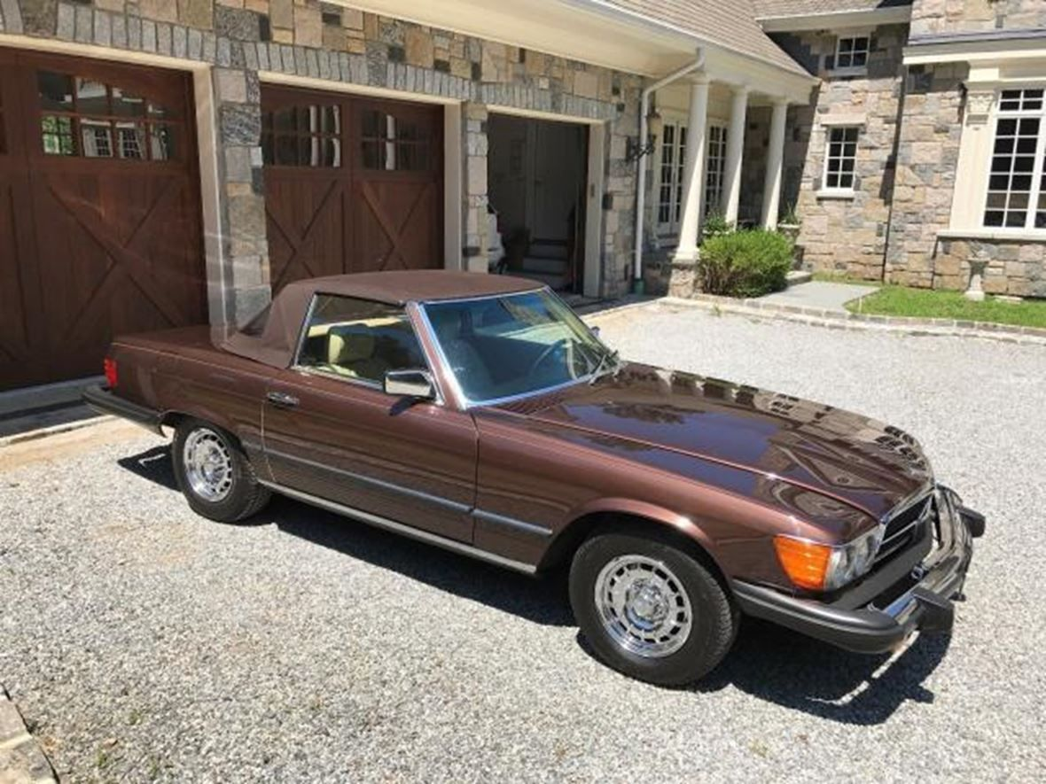 1980 mercedesbenz slclass for sale by owner in highmount