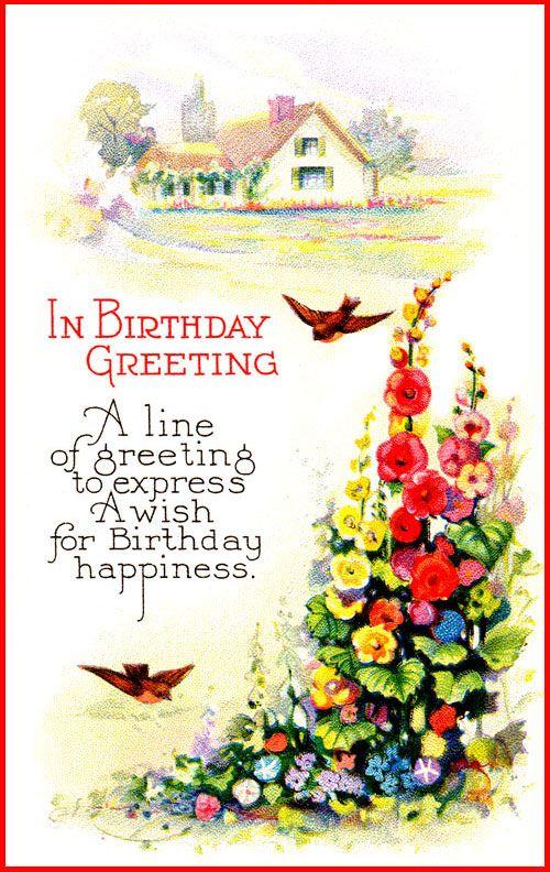 Beautiful Birthday Greetingshappybirthdaywishesonline – Birthday Card Greetings