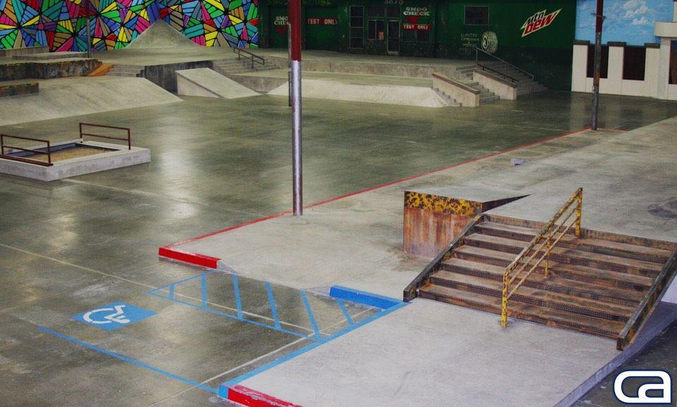 The Berrics Skateparks California Skateparks built