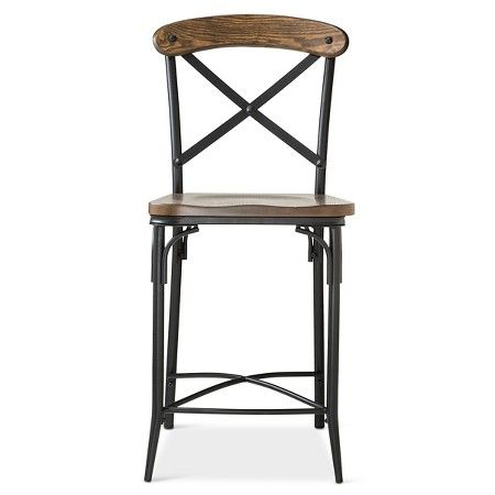 Bralton 23 Quot Counter Stool Steel X2f Brown The Industrial