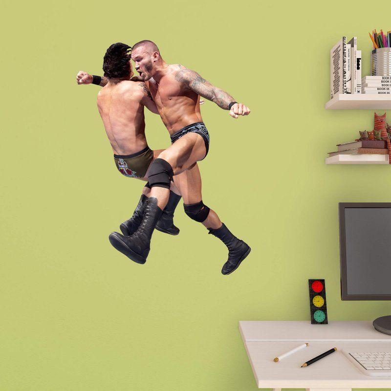 Fathead WWE Randy Orton Clothesline Junior Wall Decal   15 16614 Part 52
