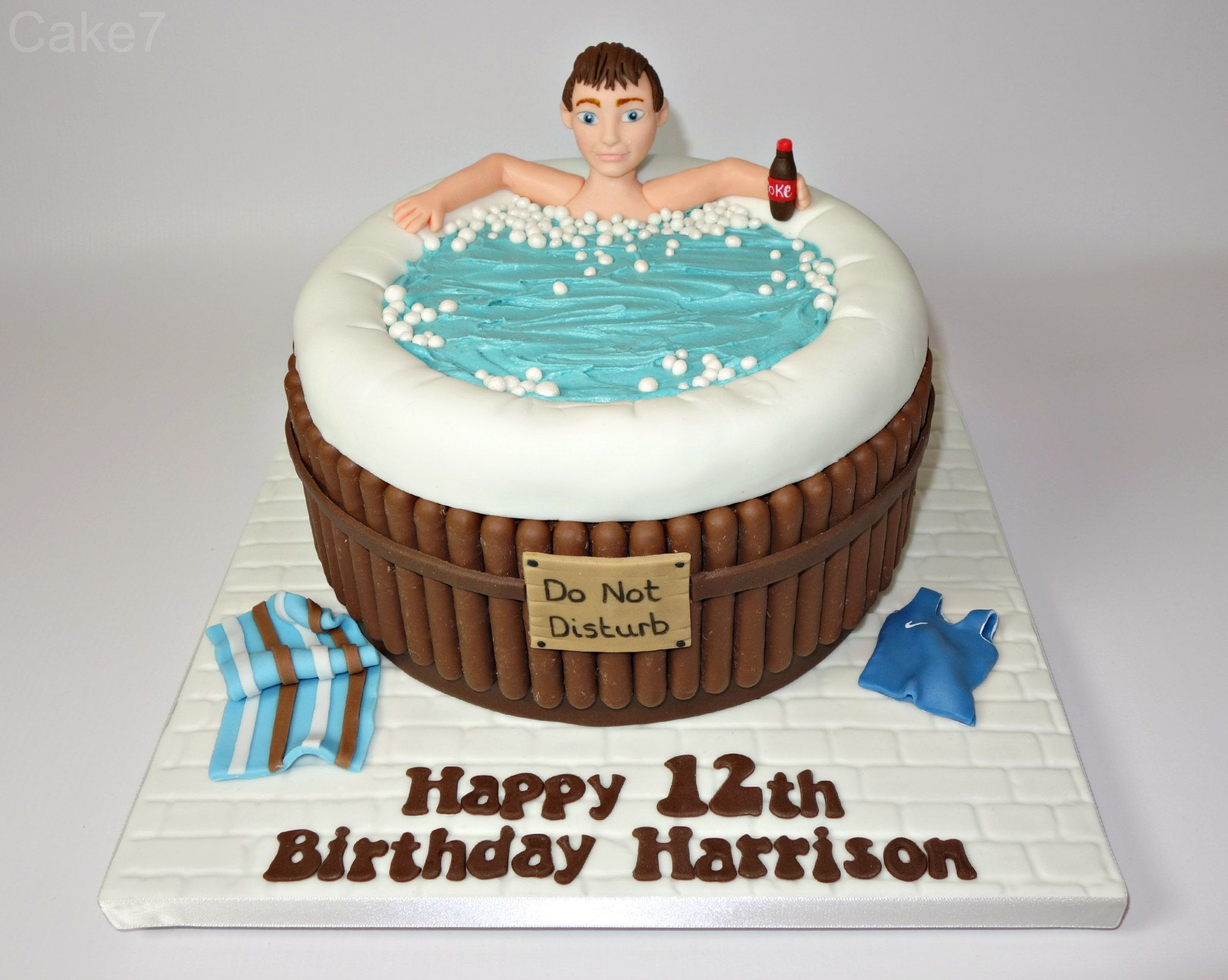 Hot Tub Cake Www Cakeseven Wix Facebook Cake7 Twitter Cake7