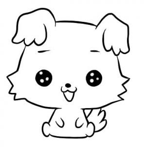 Chibimaru Colouring Pages Japanese Cartoon Characters Japanese Cartoon Colouring Pages