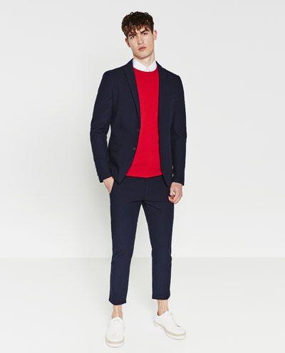 costumes homme zara france clky pinterest seersucker jacket and men blazer. Black Bedroom Furniture Sets. Home Design Ideas
