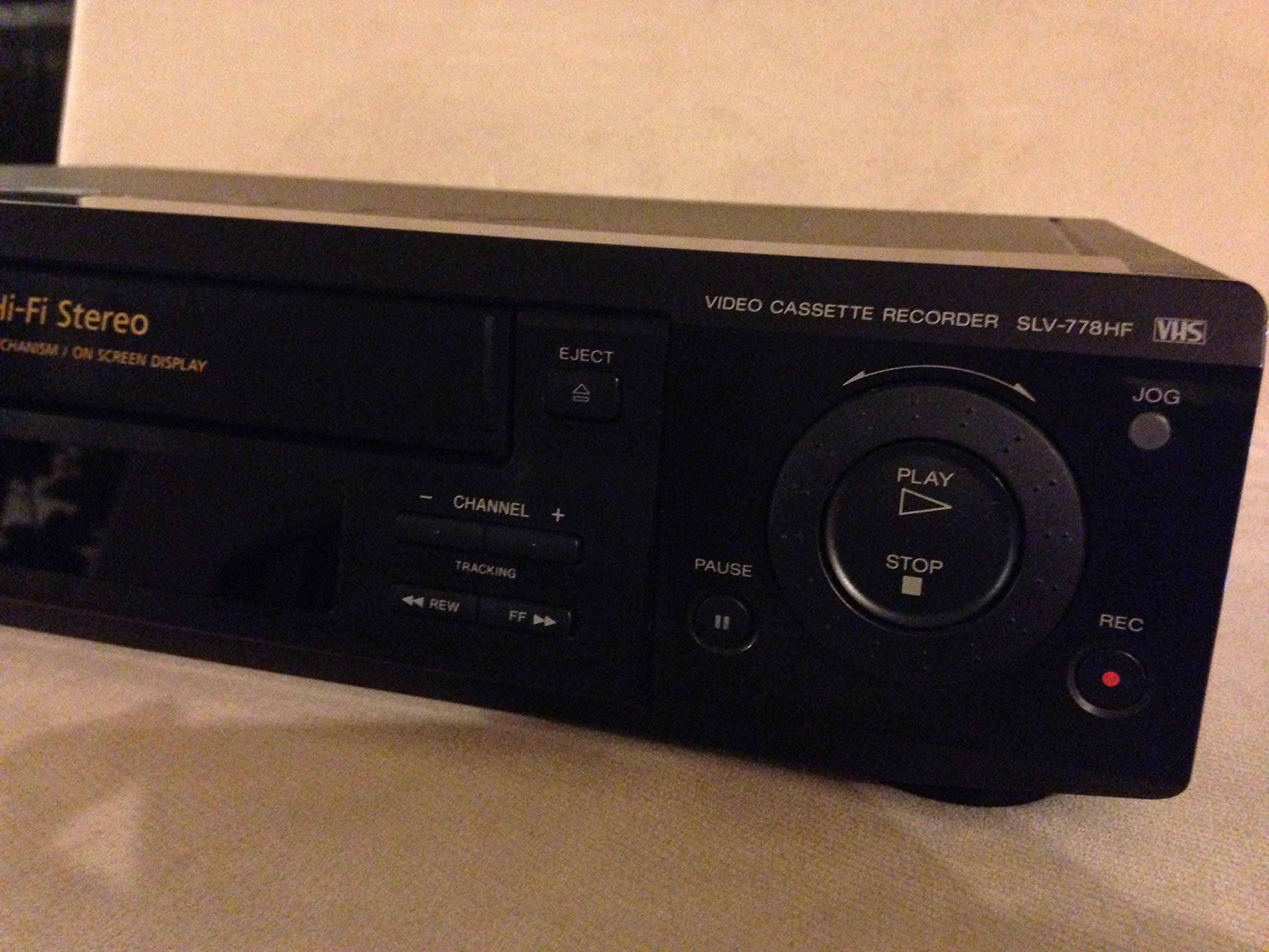 Sony SLV-675HF Video Cassette Recorder Player VCR w// Hi Fi Stereo
