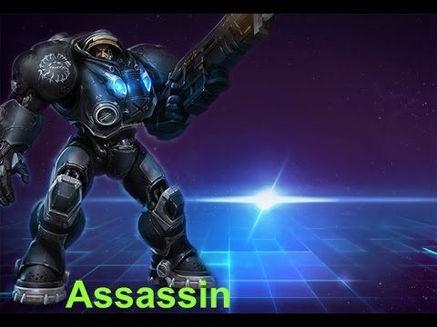 Heroes Of The Storm Raynor Untouchable Build