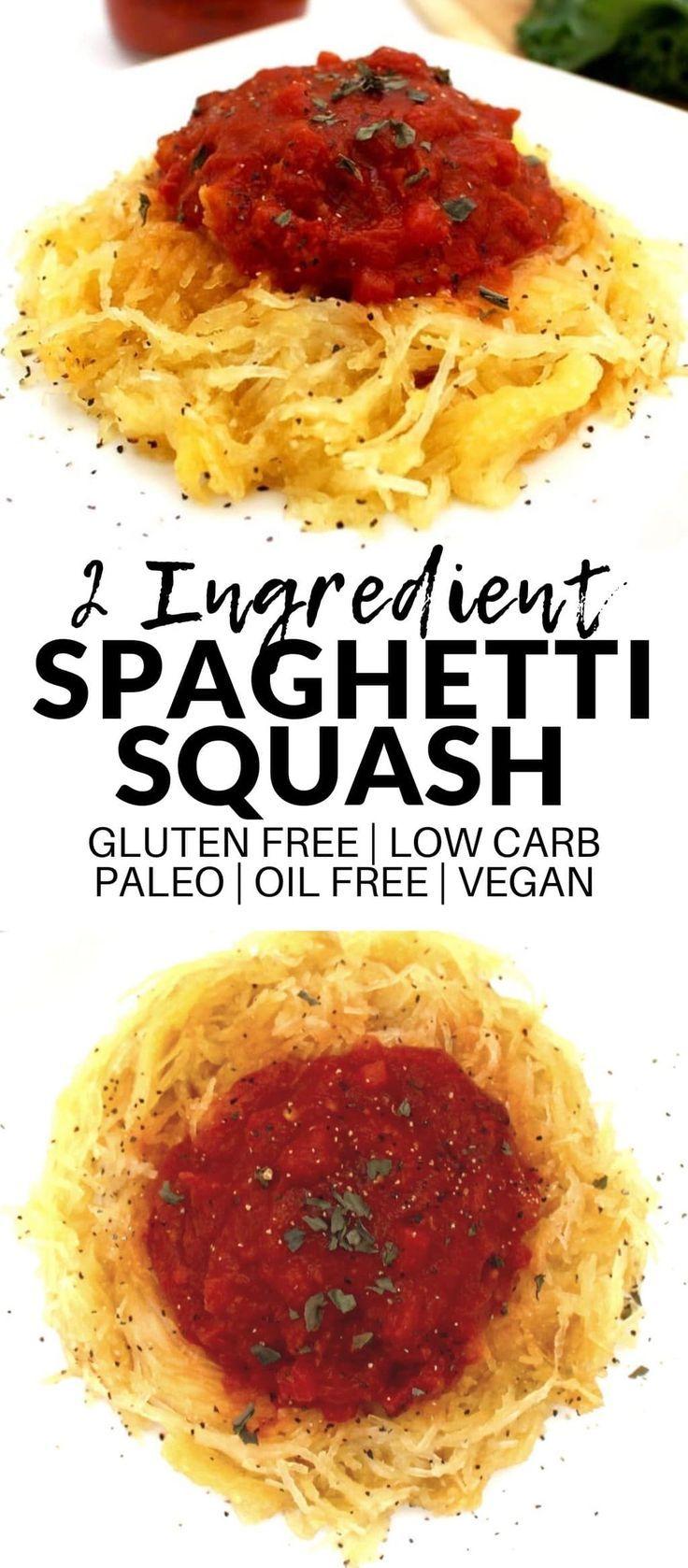 Simple Spaghetti Squash (Vegan + Paleo + Low-Carb)