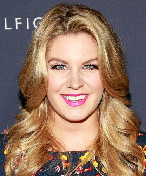 Mallory Hagan Hairstyle - Long Straight Casual. Click on the image to try on this hairstyle and view styling steps!