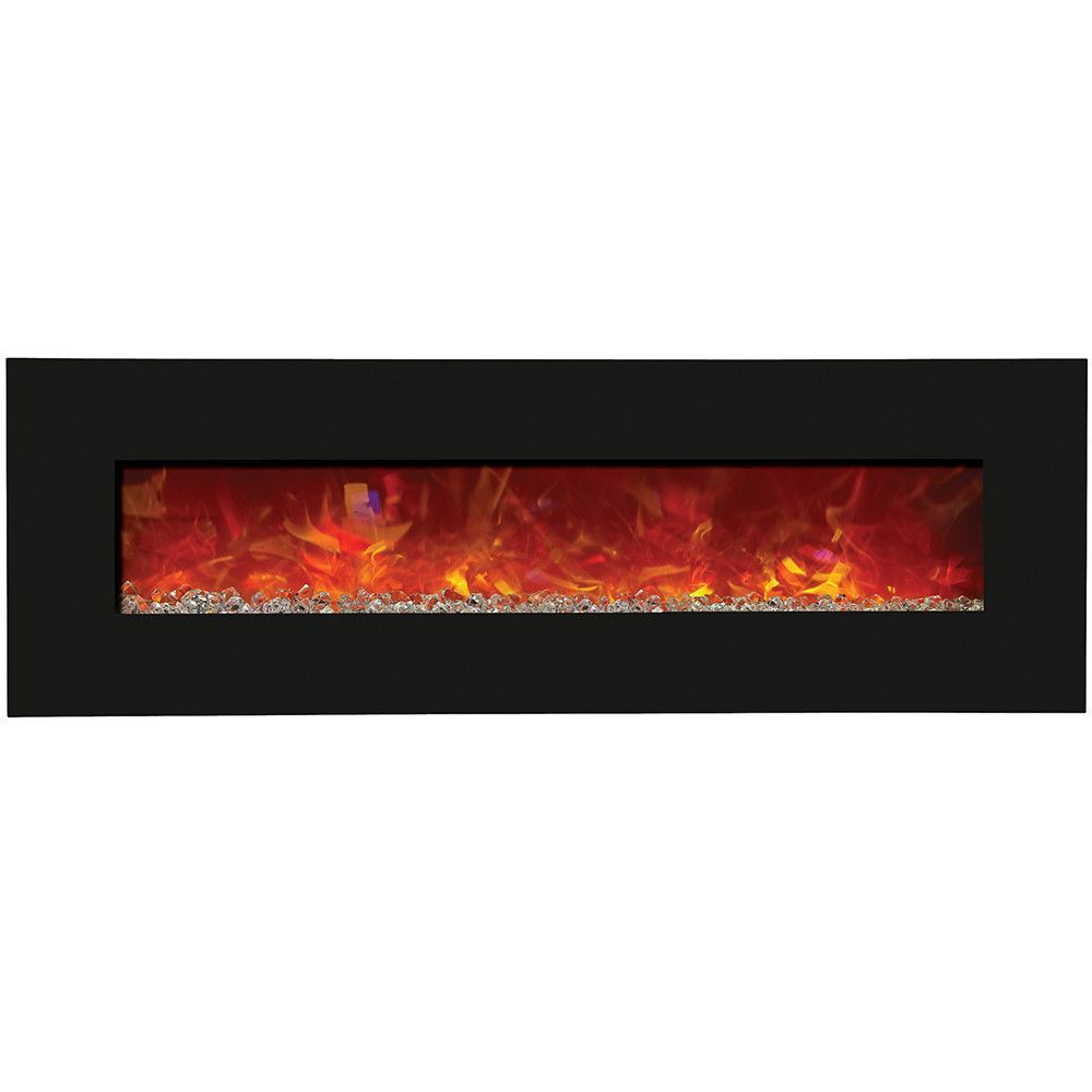 Amantii 64 Built In Wall Mounted Electric Fireplace Wm Bi 58