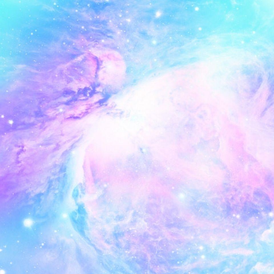 ゆめかわいいパステル宇宙柄 パステル アブストラクト 宇宙柄