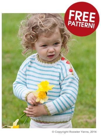 8de1b3c35 Rooster Striped Jumper Pattern