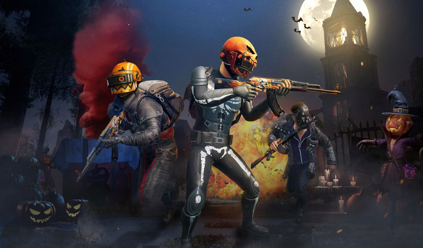 Wallpaper Pubg Mobile Kartun