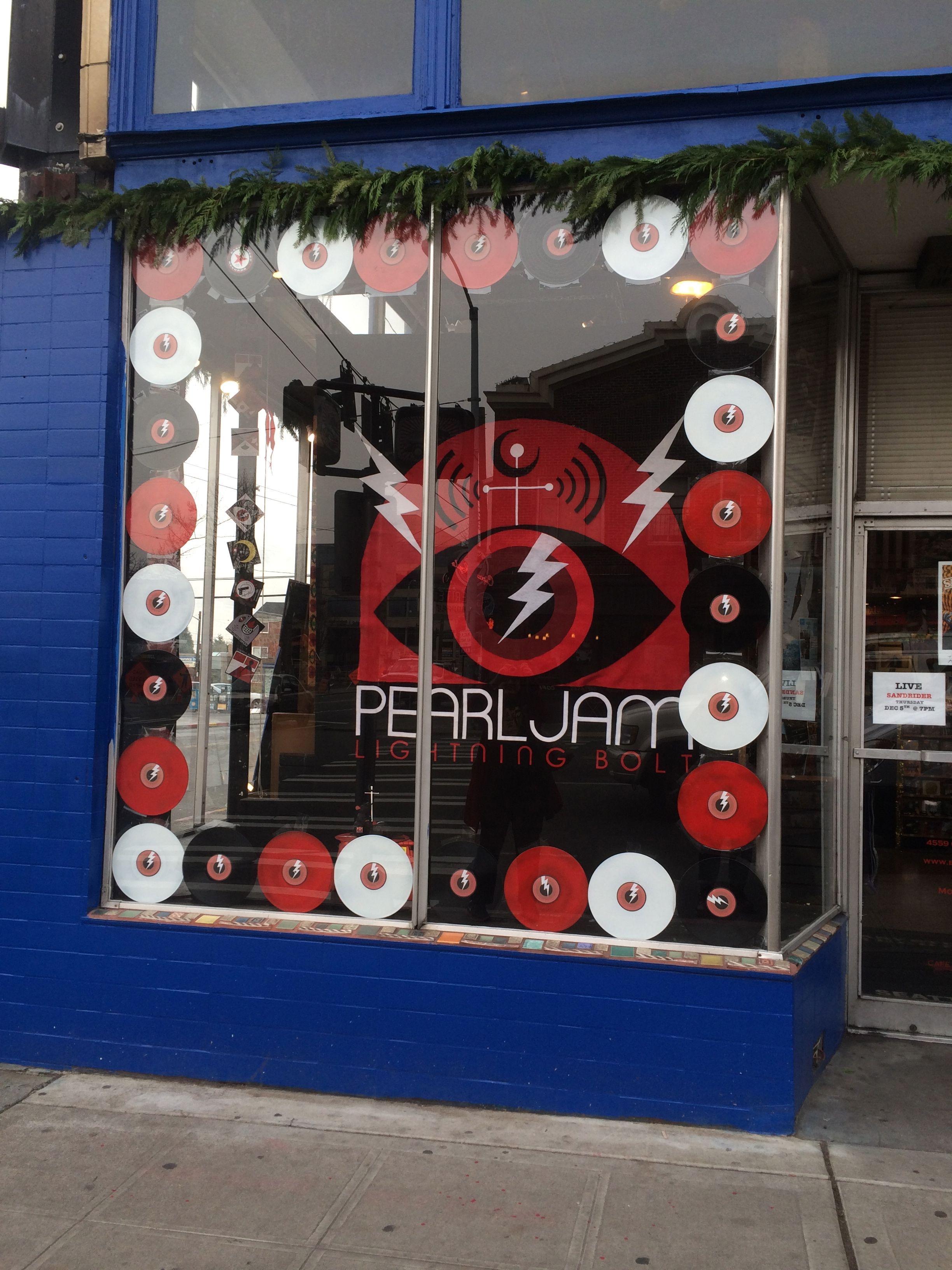 Easy Street Records West Seattle Pearl Jam Eddie Vedder Pearl Jam Seattle Photos
