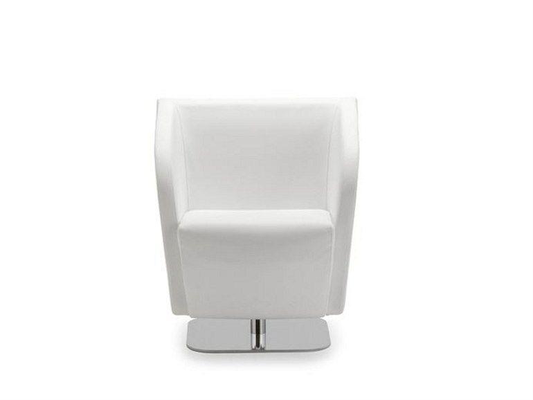 Swivel Polyurethane Armchair Leaf 054 By Tonon Design Thomas Althaus Armchair Swivel Design