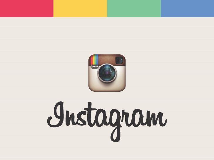 감성적으로 인스타그램을 설명한 슬라이드....the-10-commandments-of-instagram