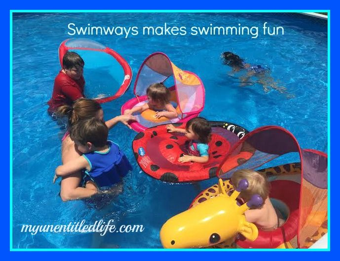 Swimways Makes Learning To Swim So Much Fun Ad Swimways With Images Learn To Swim Swimways Swimming