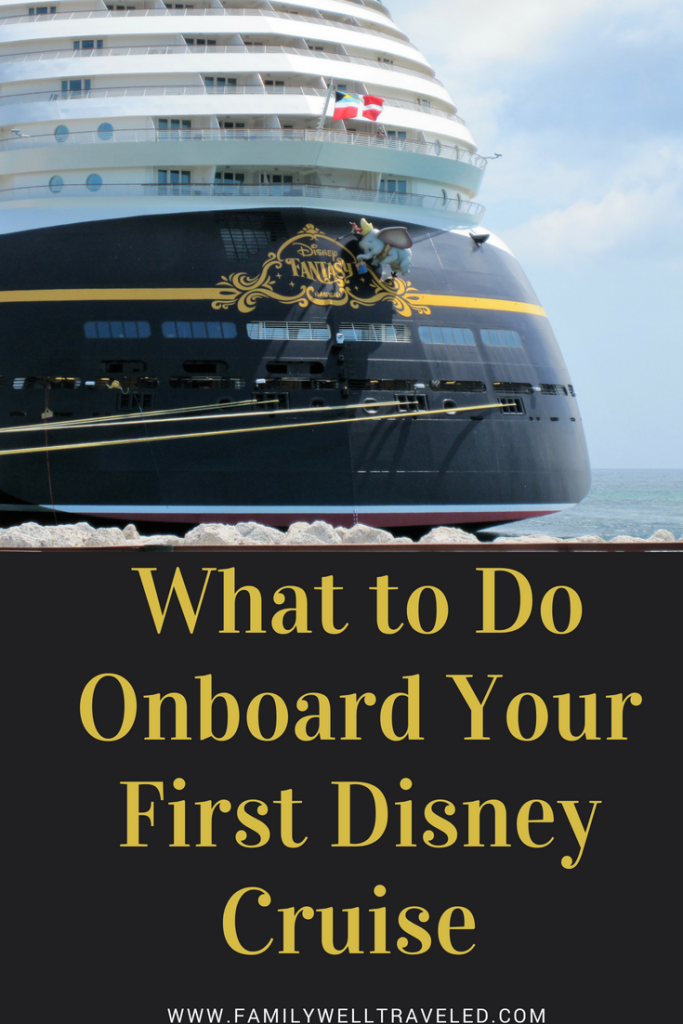 What to Do on a Disney Cruise is part of Onboard Activities Disney Cruise Line - Family Well Traveled gives you tips for what to do once onboard your Disney Cruise Line  We tell you everything you need to know to get the most out of your days at see