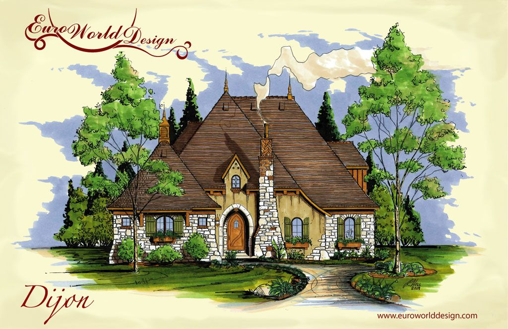 storybook collection dijon i euro world design - Euro House Designs