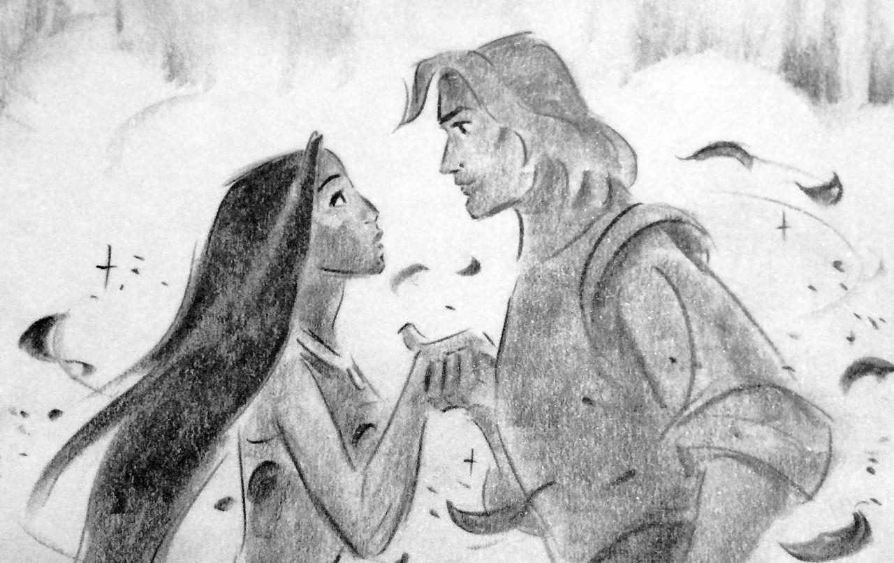 Pocahontas, une Légende Indienne [Walt Disney - 1995] - Page 13 1eafabfadcea9740c42fddbdaf834a12