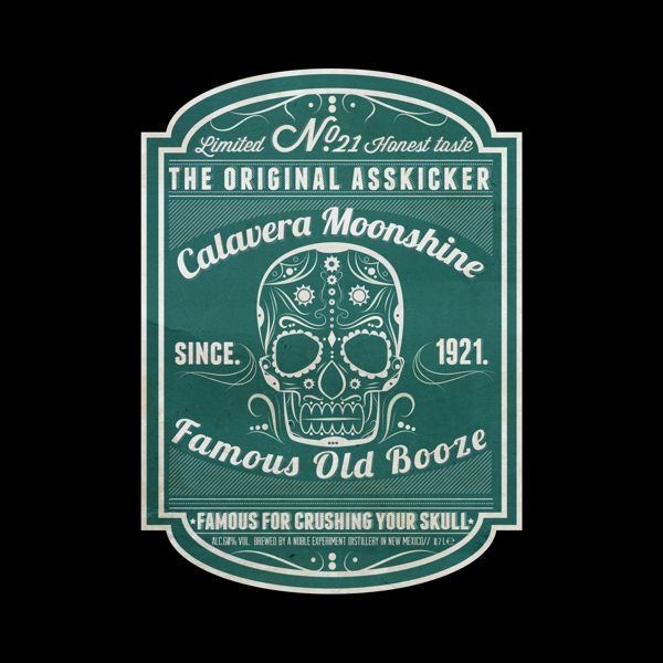 moonshine label ideas - photo #12