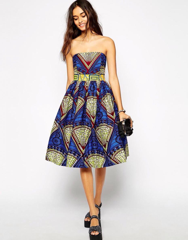 robe bustier en wax asos, j\u0027adore ces tissus pour l\u0027été, le style ethnique  , africain. Le wax est en général assez épais, ce qui correspond bien à  cette
