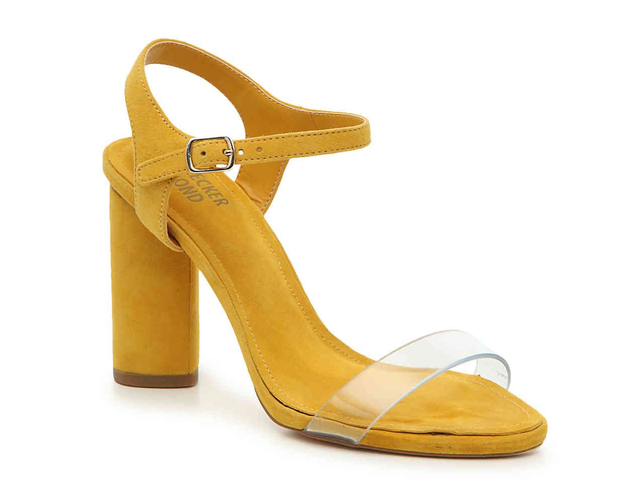 Bleecker & Bond Viola Sandal   Yellow heeled sandals, Sandals ...
