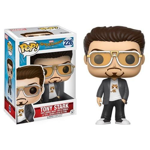 Spider Man Homecoming Tony Stark With Kitty Tee Pop
