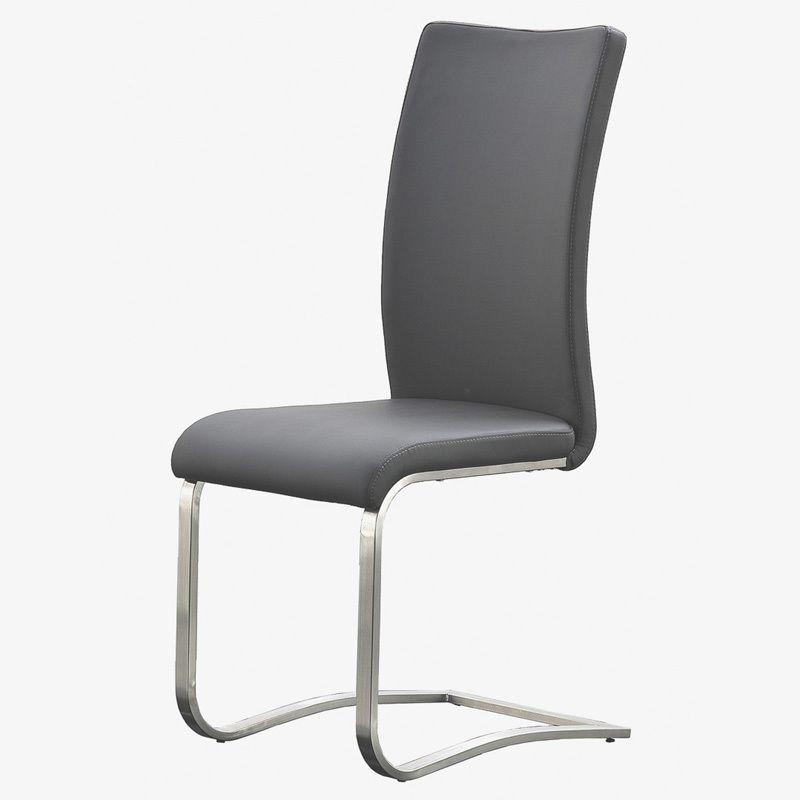 Schwingstuhl 2er-Set »RACO« ECHT LEDER grau Jetzt bestellen unter - stühle für die küche
