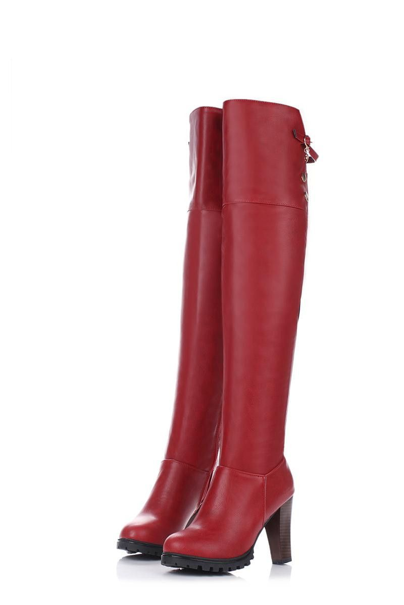 Western Over the ...  #buy it at  ReShop Store  here http://www.reshopstore.com/products/western-over-the-knee-boot-up-to-size-14?utm_campaign=social_autopilot&utm_source=pin&utm_medium=pin
