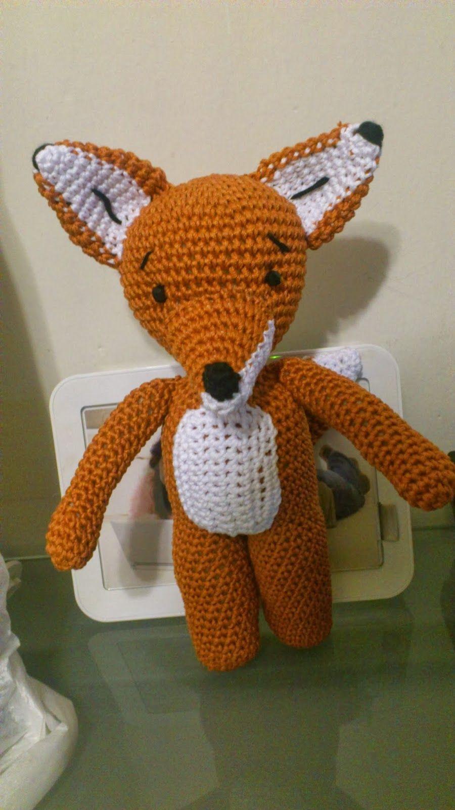 PATRON ZORRO, OSO, CHANGO AMIGURUMI | crochet | Pinterest ...