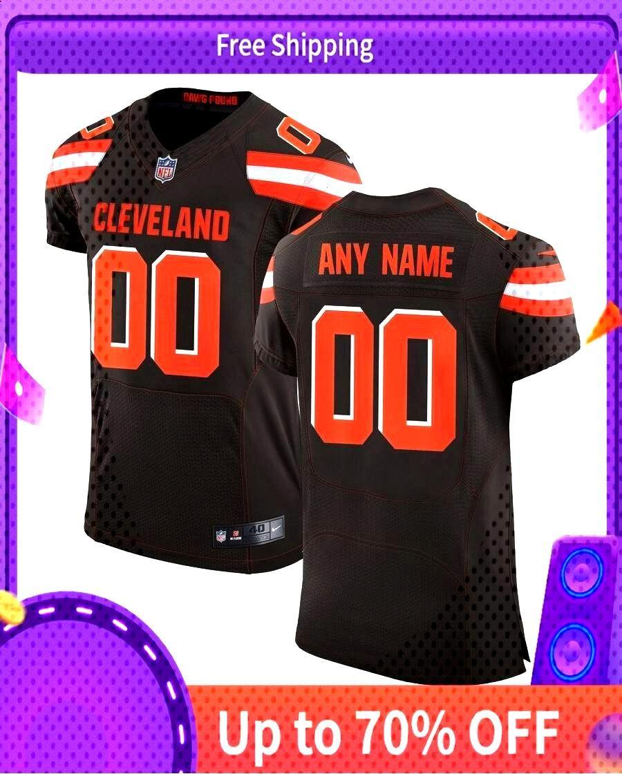 Online cheap ClevelandBrowns Nike Speed Machine Elite Custom Jersey - Brown#ToddGurley
