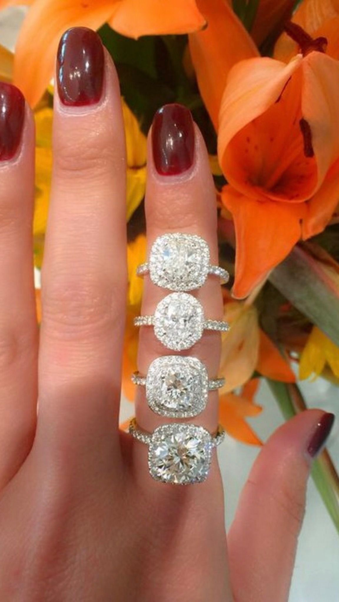 carot preset ring profile pave petite flawless wedding rings cut simulant white solitaire akgxqua ruxwona pictures low carat fashion diamond round promise gold in of engagement