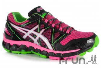 asics chaussure femme trail