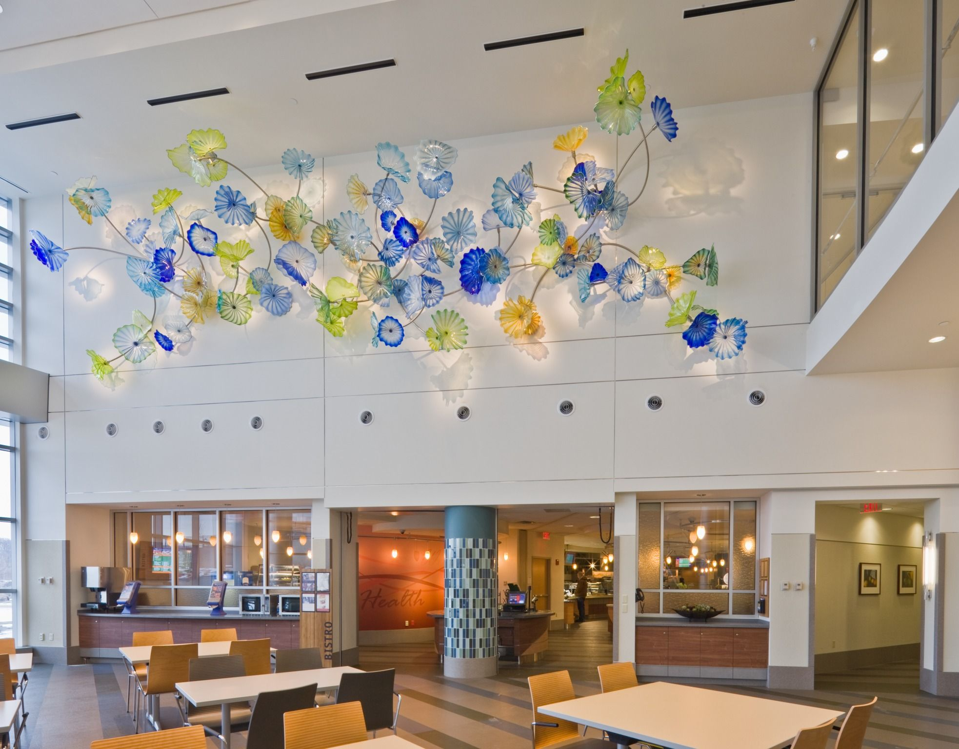Dale Chihuly - Ahuja Medical Center | Featured Projects-Art