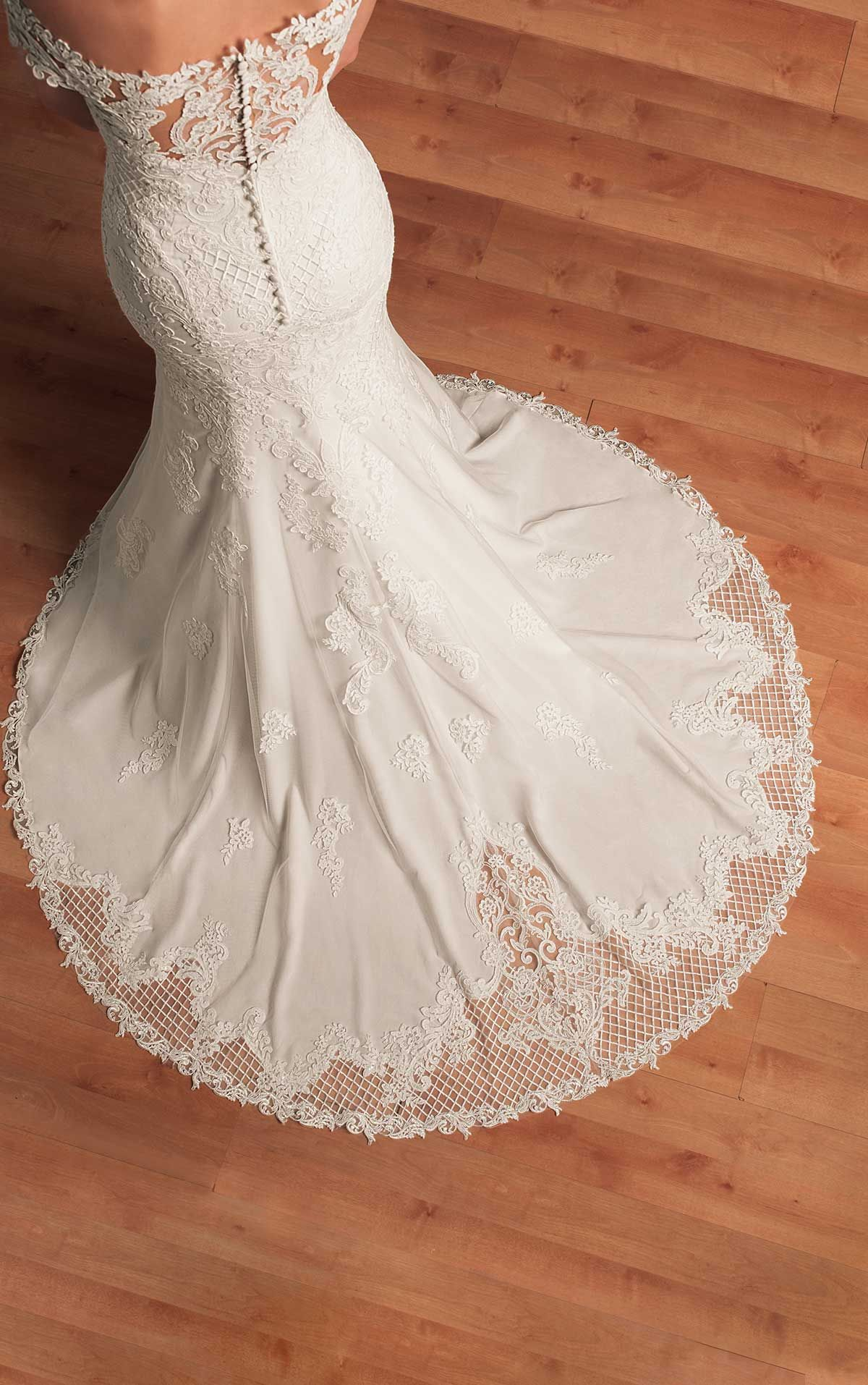 Bohemian lace wedding gown stella york wedding dress and lace