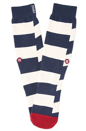 Stance Socks Dead Sea Socks in Navy