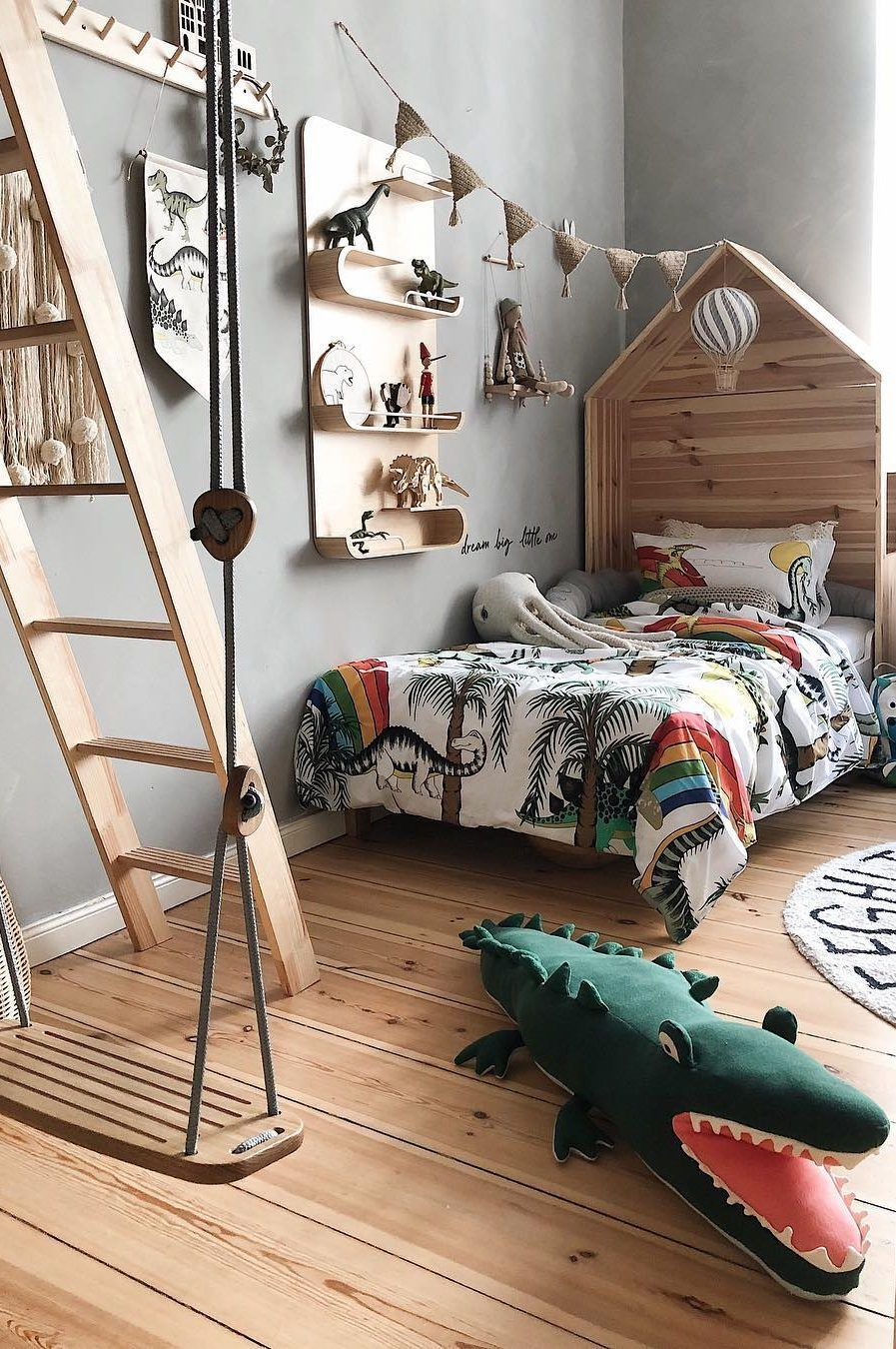 45 Beautiful And Modern Bedroom Decorating Ideas For This Year Page 37 Of 45 Evelyn S World My Dreams My Colors And My Life Boy Room Themes Toddler Boy Room Themes Toddler Rooms Childrens room decorating ideas