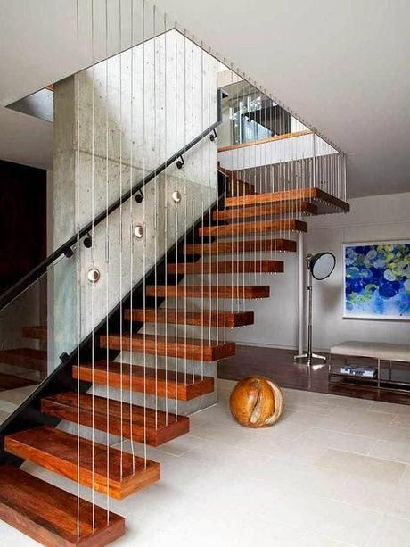 Propuesta de Escaleras Modernas Staircases, Staircase ideas and