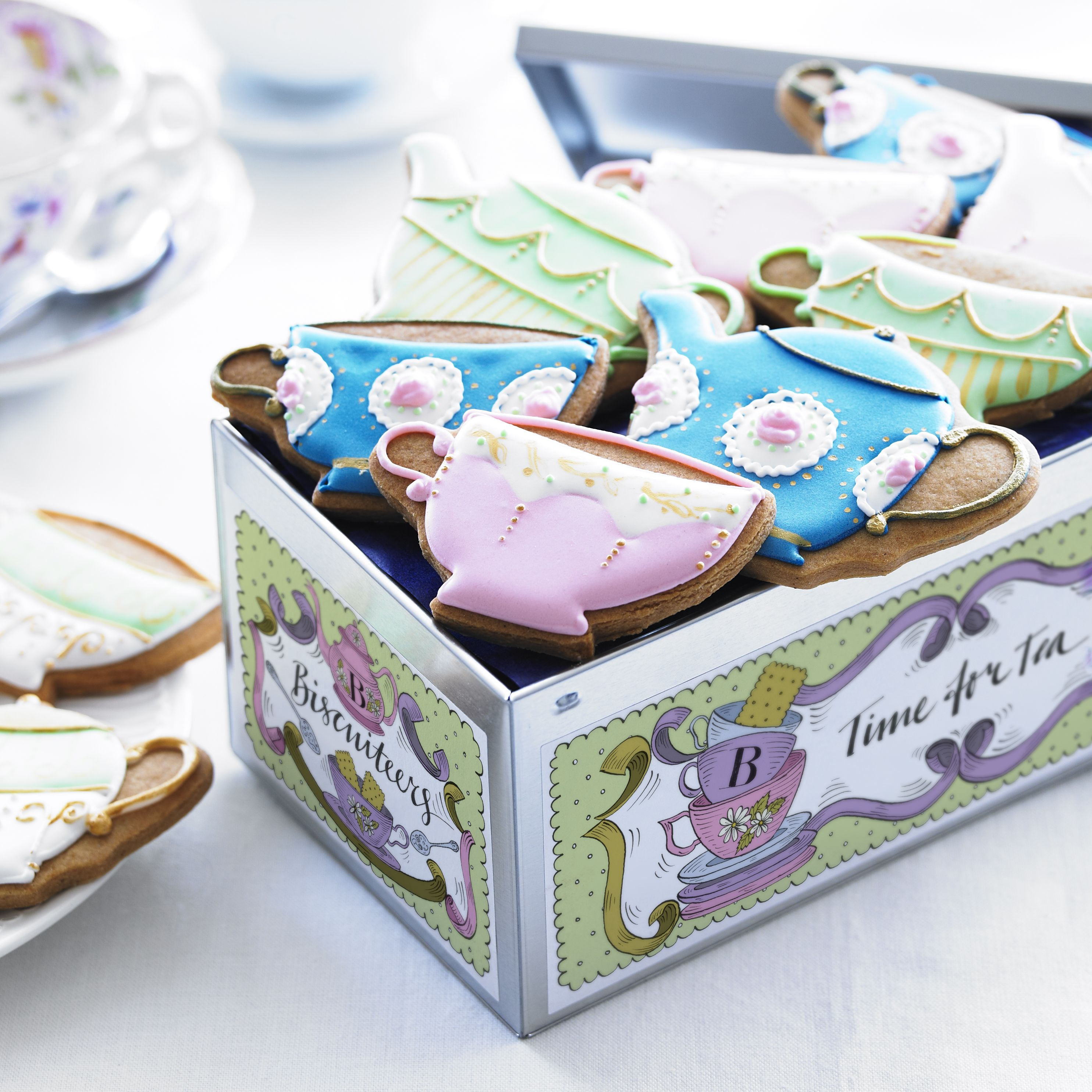 Biscuiteers Tea For Two