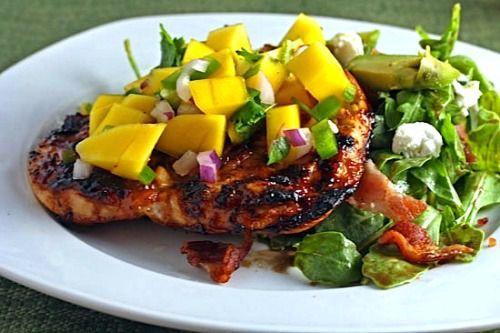 Mango BBQ Marinade for Chicken Recipe - The Classy Chics
