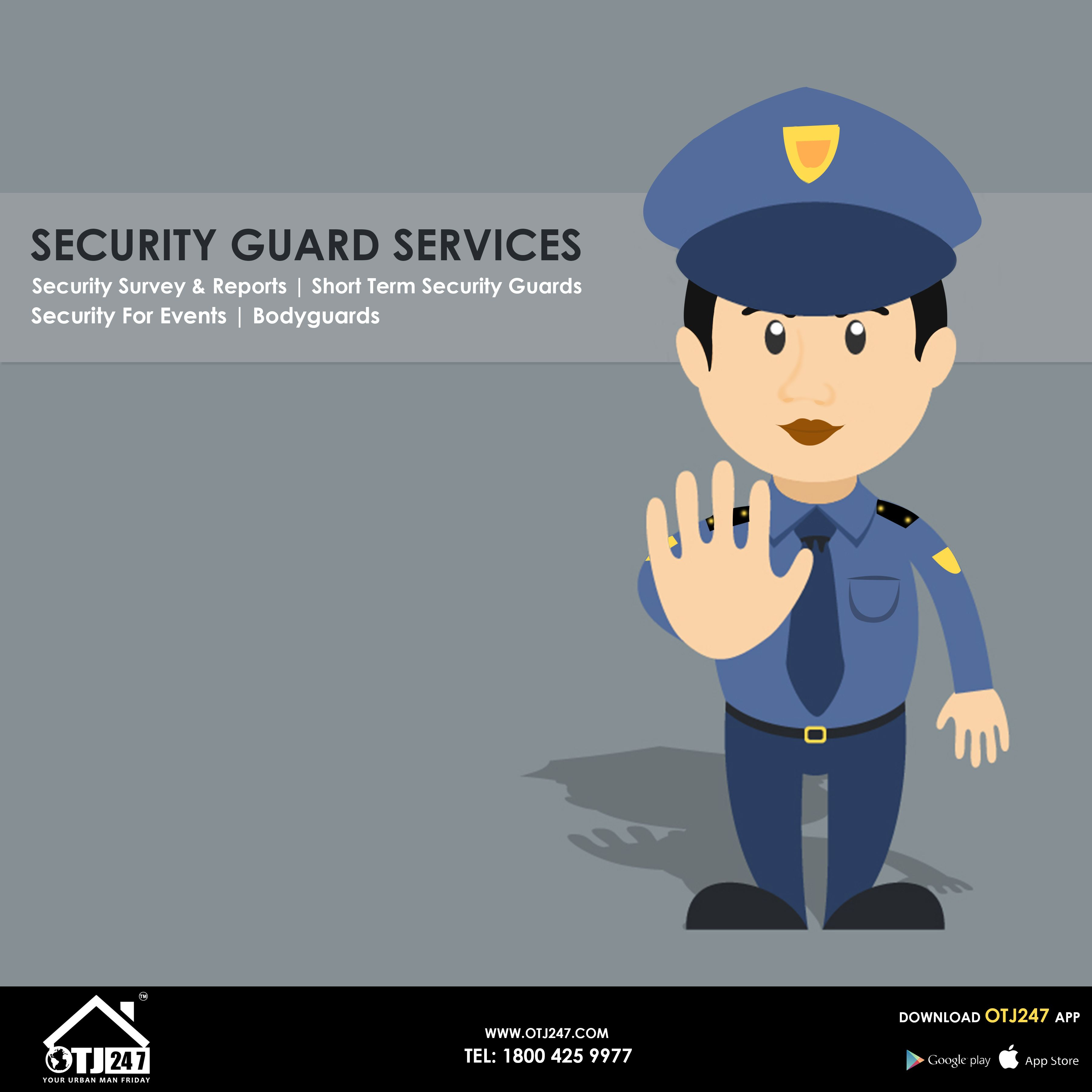 Pin by OTJ247 on Handyman | Security guard services, Security guard
