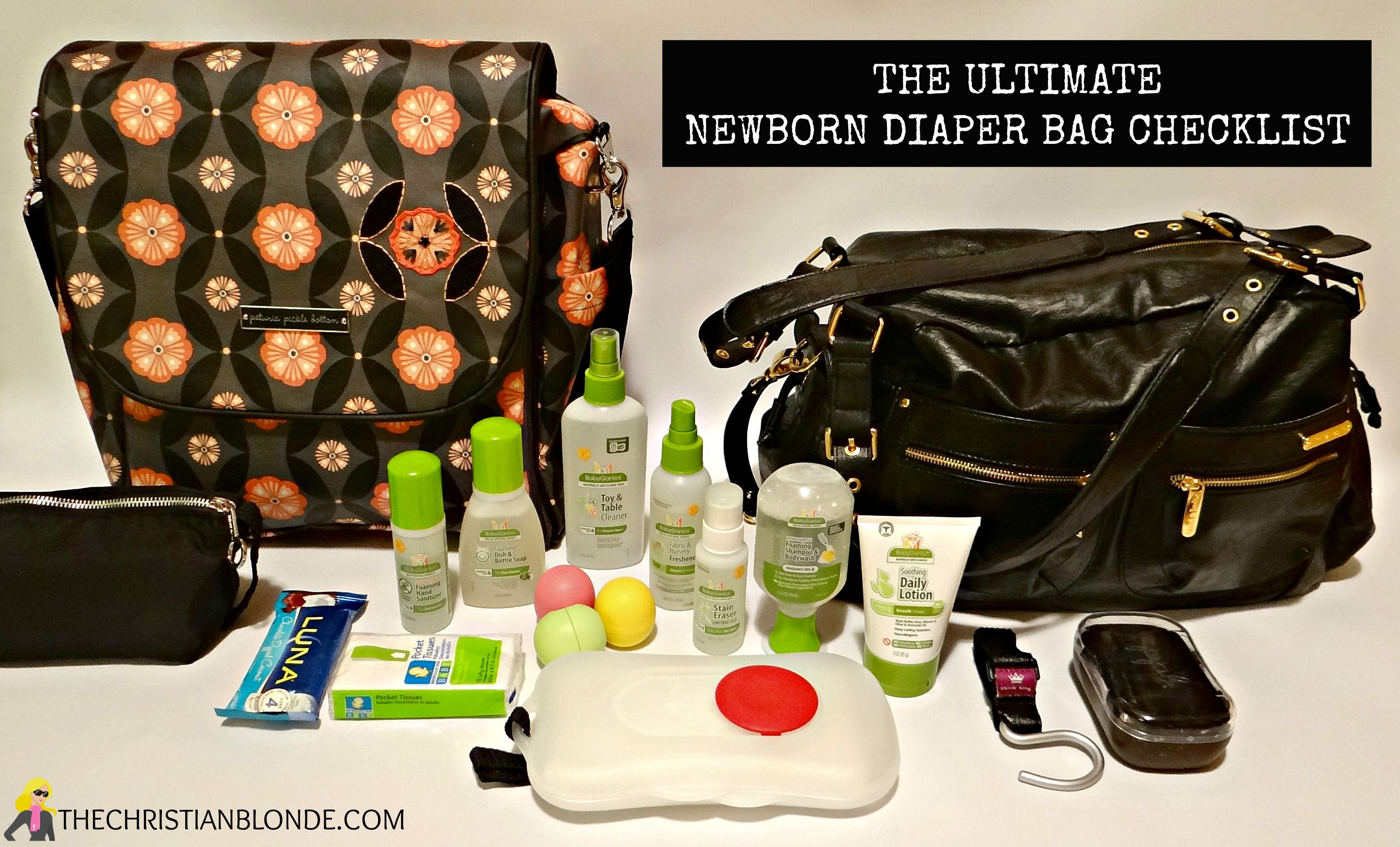 The Ultimate Diaper Bag Checklist For Newborns Free Printable Best And Most Detailed List