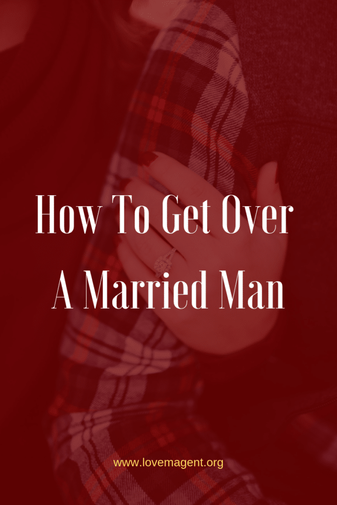 how to cope dating a married man